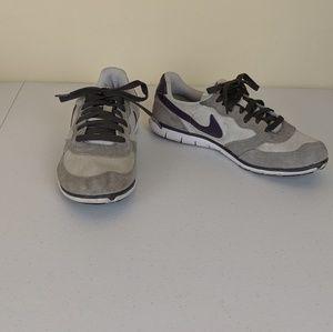 Nike Lightweight Sneakers Grey/Purple